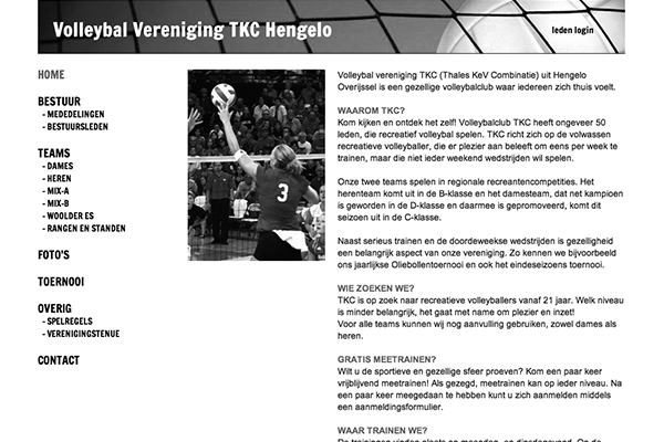 Volleybal Vereniging TKC Hengelo